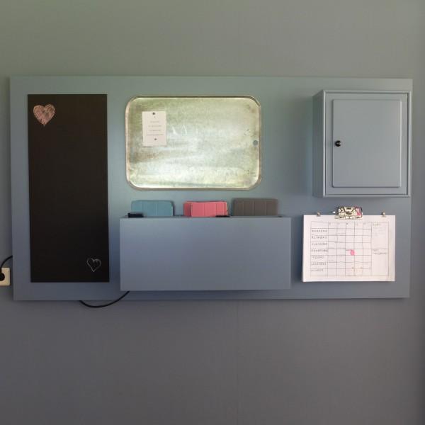 wandbord dockingstation opruimsysteem tablet en mobiele telefoons