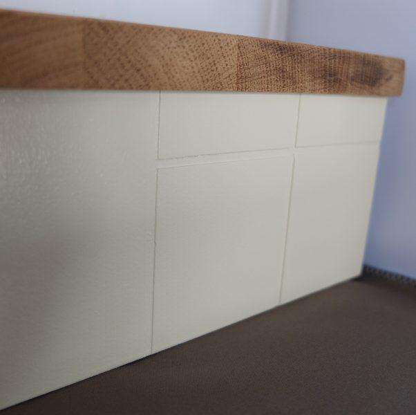 Poppenhuis meubeltjes Keuken detail foto kastjes
