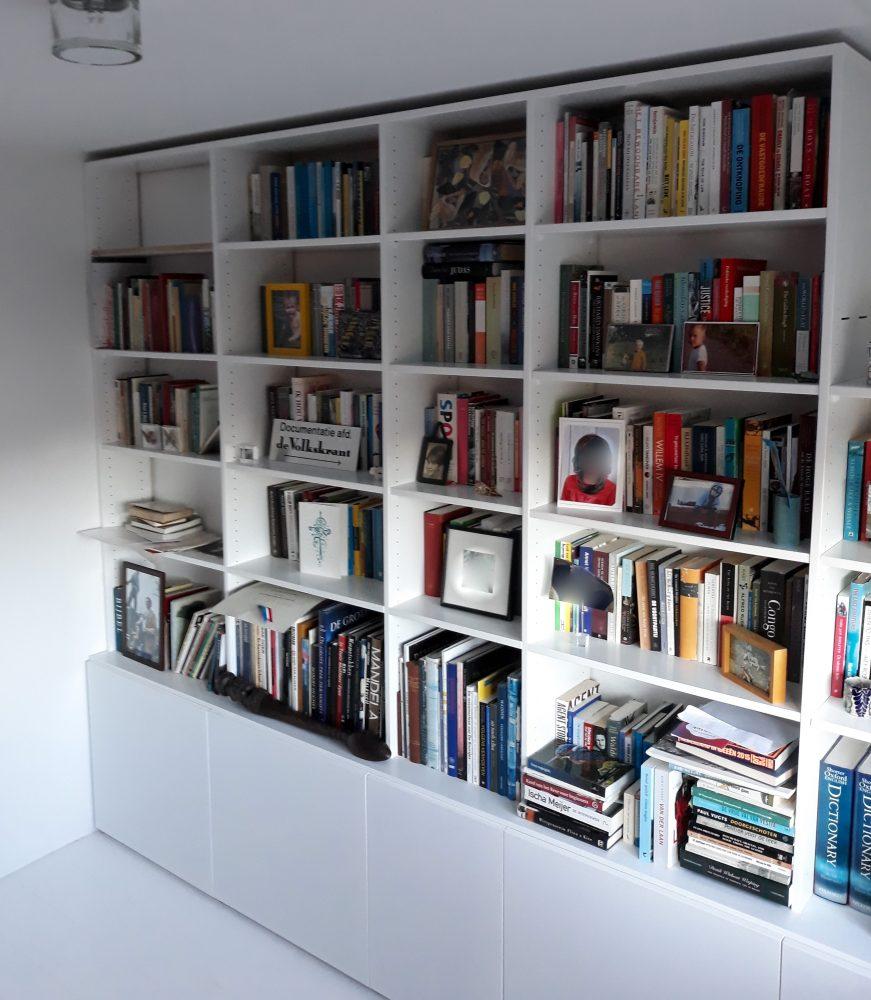 Boekenkast opmaat