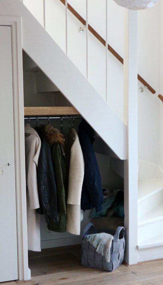 Kapstok passend in trapgat