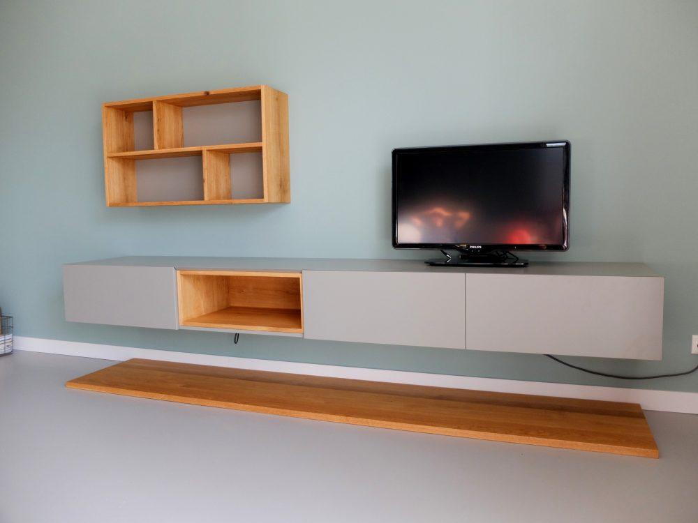 Zwevende kast, televisie meubel, dressoir