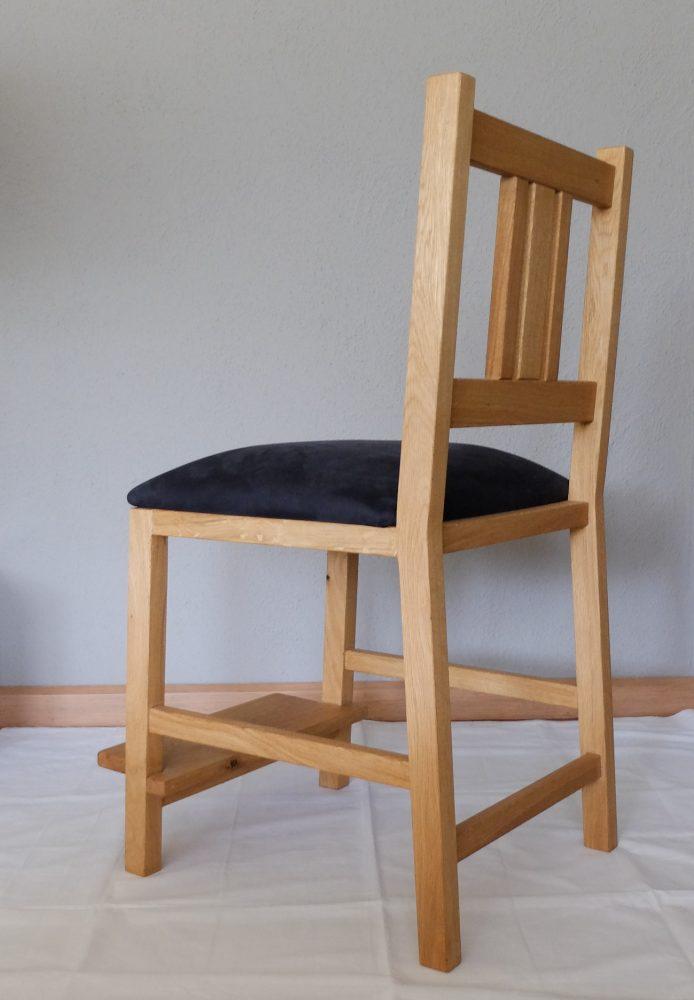 Aangepaste stoel, keuken stoel